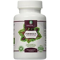 GarciniaLab 100% Pure Forskolin Max Strength Forskolin Extract Supplement for Weight Loss Fuel, Coleus Forskohlii Root 20% Forskolin Diet Pills