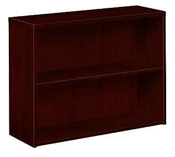 amazon com hon 10500 series end cap bookshelf 2 shelves 24 w by rh amazon com Bookshelf 2 Columns 3 Shelves Reclaimed Wood Shelves Bookshelf