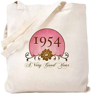 CafePress 1954 Bolsa de cumpleaños para ella, lona, caqui ...