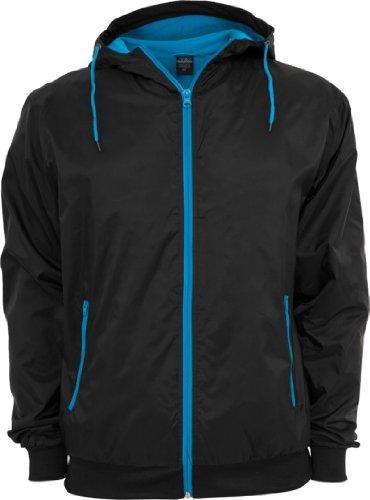 TB147 Hombre viento Blk Urban Runner Classics chaqueta nbsp;Contrast Tur de fw1ExqP5