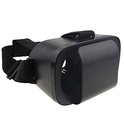 3D Virtual Reality Glasses Innovative Design Fit For 4.0-6 Inch Smart Phones iPhone 5s/6/6s Samsung S6 S7 Edge Note 4 VR Box For 3D Movies And Games