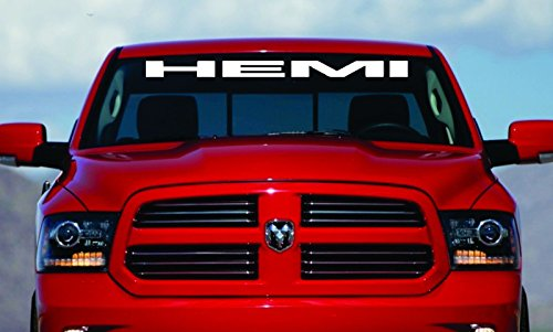 dodge ram 1500 windshield decal - 2