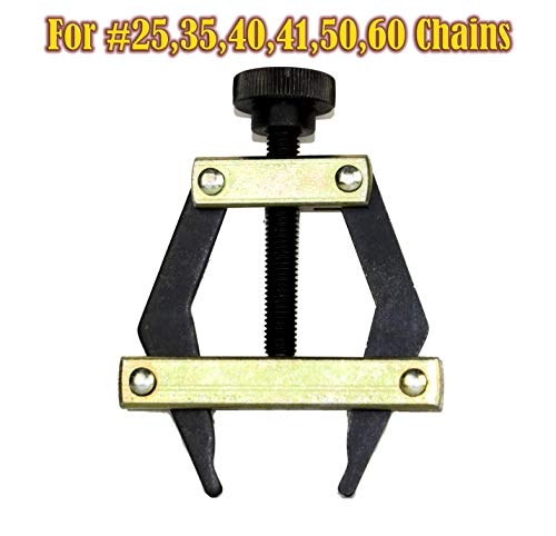 (Roller Chain Puller Holder for Chain Size25, 35, 40, 41, 50, 60,420, 415,415H)