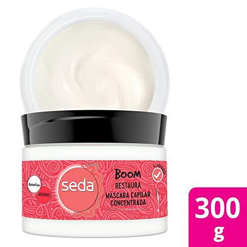 Máscara Capilar De Tratamento Seda Boom Restaura 300 G, Seda