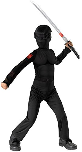 Morris Costumes G.I. JOE SNAKE EYES 4-6