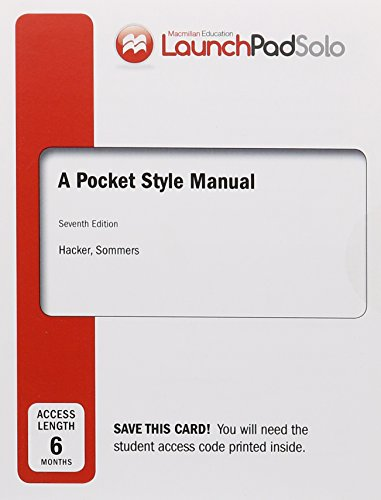 A Pocket Style Manual Apa Version Import It All