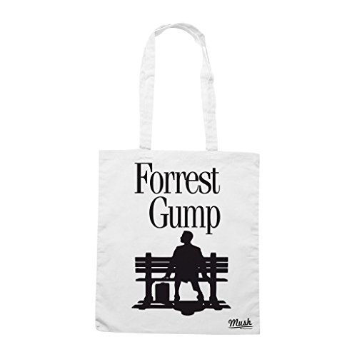 Borsa FORREST GUMP LOVERS - Bianca - FILM by Mush Dress Your Style