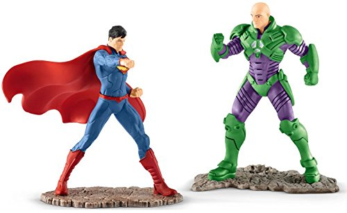 Lois Lane Costume Superman (Justice League Superman VS Lex Luthor DC Comics 2 Action Figure Pack Schleich. Add to your Marvel Collection. Great Toy Gift for Birthday or Christmas Holiday 2017 - Amazon Exclusive)