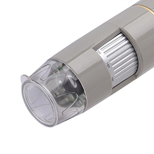 8/LEDs USB bangweier ht-60l USB microscopio/ OTG funci/ón 2592/x 1944/resoluciones DSP CMOS /Zoom 500 5/MP