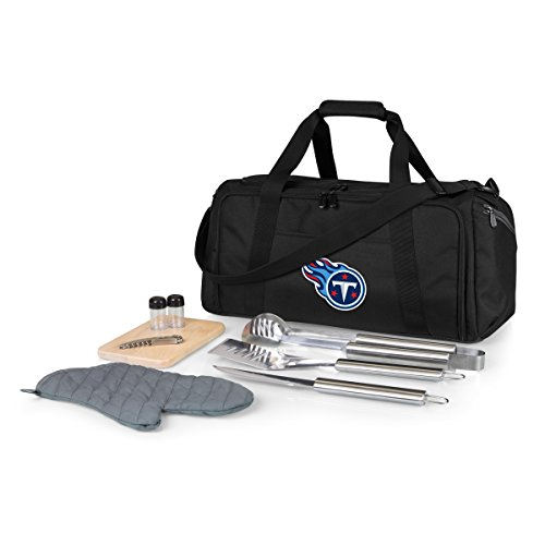 NFL Tennessee Titans BBQ Kit/Cooler Tote with Barbecue and Picnic Accessories