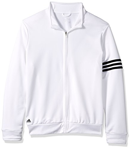 Adidas Women' 3-Stripes Full Zip Pullover Jacket A191 – DiZiSports Store