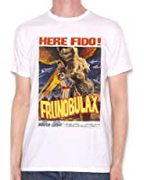 Inspired by Frank Zappa T shirt - Frunobulax Monster Movie Poster