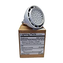 OSRAM PAR30 LED Light Lamp 45w LED High Output Bulb Bay Swimming Pool Spa Garage 110v 500w replacement 300w Low