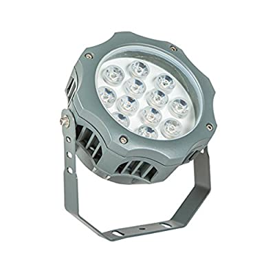 Julitech 3W-12W LED Flood Light, Waterproof IP65, 1200Lm, Super Bright Outdoor LED Flood Lights For Playground, Garage, Garden, Lawn And Yard Model