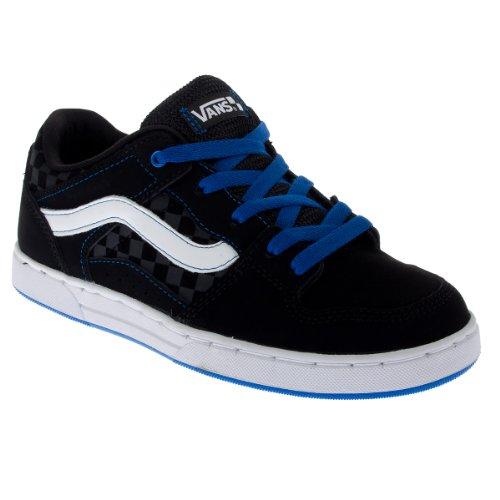 Vans Y BAXTER VMAX3L2 - Zapatillas de tela para niños Black/Blue/White
