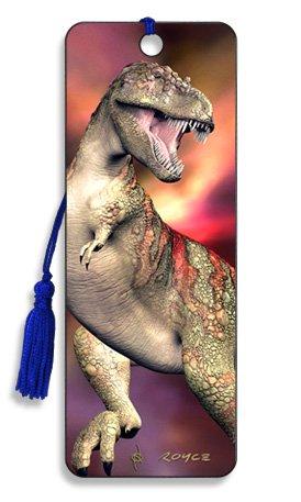 T-Rex - 3D Bookmark - Cheatwell Games]()