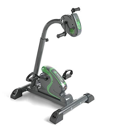 🥇 ECO-DE Bicicleta Dual Training estática para piernas y Brazos