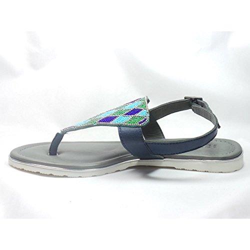 Jenny - Sandalias de vestir para mujer azul azul marino azul marino