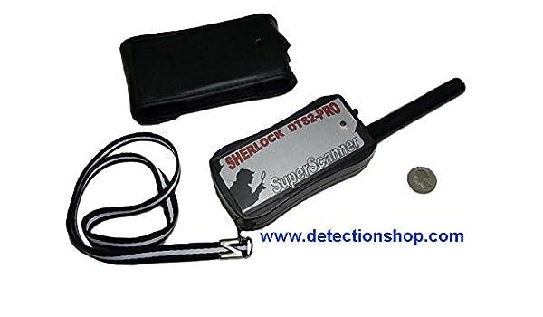 Pinpointer Sherlock superscanner DTS 2 Pro Metal Detector: Amazon.es: Jardín