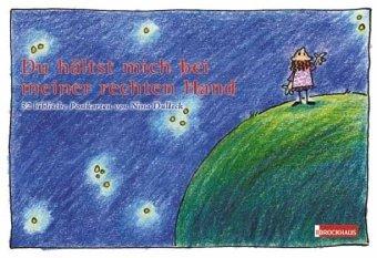 Du hältst mich bei meiner rechten Hand - Postkartenbuch: 32 biblische Postkarten von Nina Dulleck