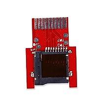 SD2VITA Micro SD Adapter, Cochanvie SD2VITA PSVSD Micro SD Memory Transfer Card Adapter for PS Vita (Red, Firmware 3.60)