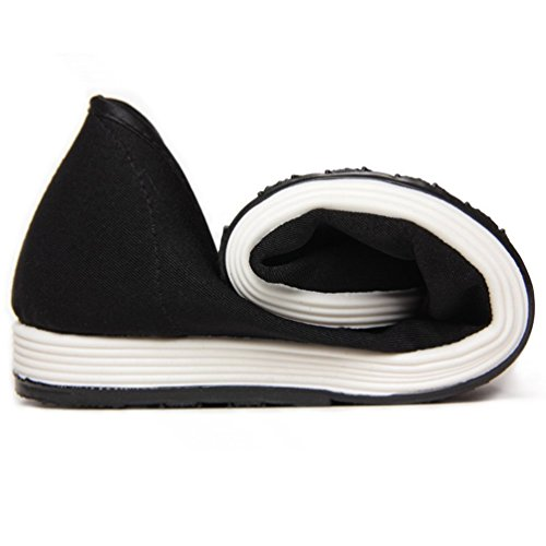 Zapatos Zapatos Suela Slip Mens Flats Zapatos Negro Casual Tela De On Suave AlgodóN De Boat aOdgnxgqH