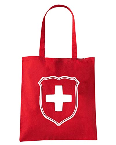 Speed WC1248 CROSS Rossa Shopper Shirt SWISS Borsa rqw8rS