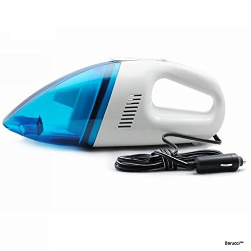 berucci white 12v portable car vehicle auto handheld vacuum cleaner wet dry vehicles parts parts. Black Bedroom Furniture Sets. Home Design Ideas
