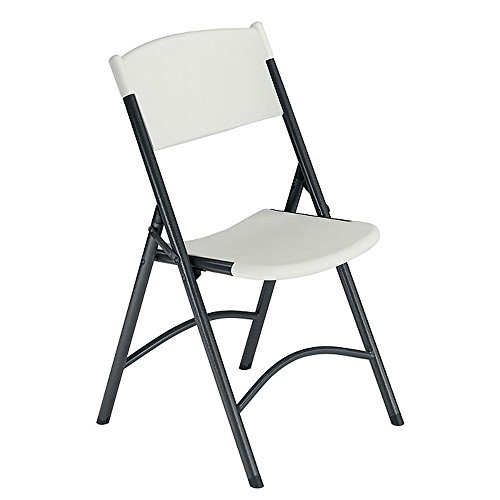 Chair Speckled White/Black Frame Dimensions: 18.5