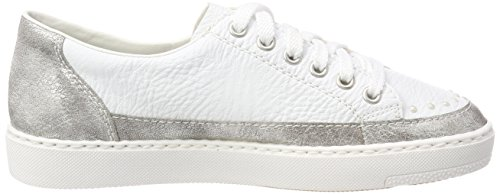 Altsilber EU M7924 Blanc Femme Basses 40 Weiss Sneakers Rieker AOxwqZfA