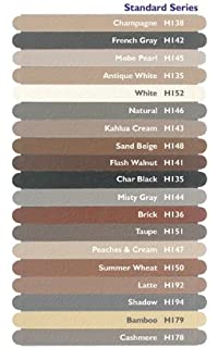 Hydroment Color Matched Caulk By Colorfast (White) (sanded White)