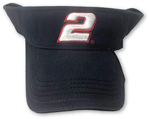 Sideswipe Hat - Chase Authentics Rusty Wallace #2 Rusty's Last Call Adjustable Sideswipe Visor