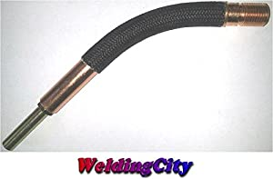 WeldingCity 64A-45 Gun Tube Gooseneck for Lincoln Magnum 300/400A and Tweco #3/#4 MIG Welding Guns by WeldingCity.com