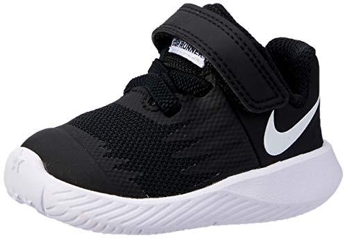 - Nike Boys' Star Runner (TDV) Toddler Shoe (8 M US Toddler, Black/Volt/White)