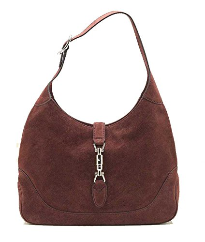 Gucci New Jackie Suede Hobo Shoulder Bag 277520, (Gucci Hobo Purse)