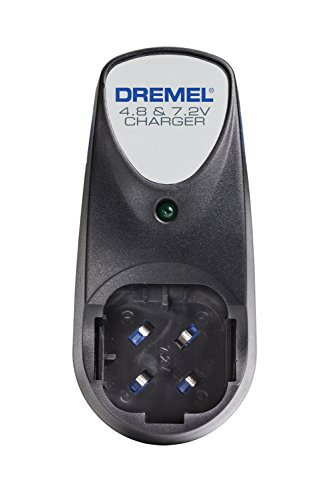 (Dremel 760-01 760-01 Dual Voltage 4.8-volt and 7.2-volt 3-Hour Battery Charger for Dremel Cordless Rotary Tool Models 7700 and 7300)