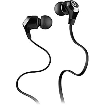 5ca56e6b5dc Monster N-Lite in-Ear Wired Earbud Headphones Mic in-Line Controls, High  Performance Earbuds, Black (Non-Retail Packaging)