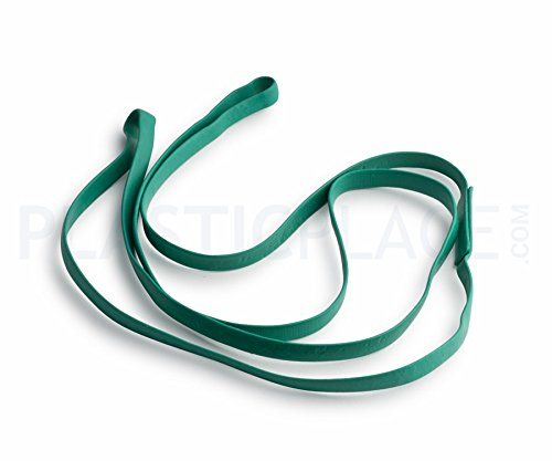 Plasticplace 17' Rubber Bands for 12-16 Gallon Trash Cans, 5 Pack