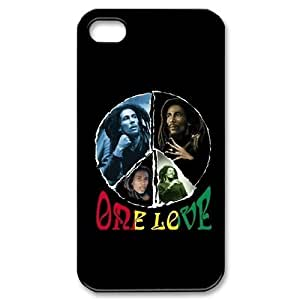 Custom Your Own Bob Marley iPhone 4/4S Case , personalised Bob Marley Iphone 4 Cover