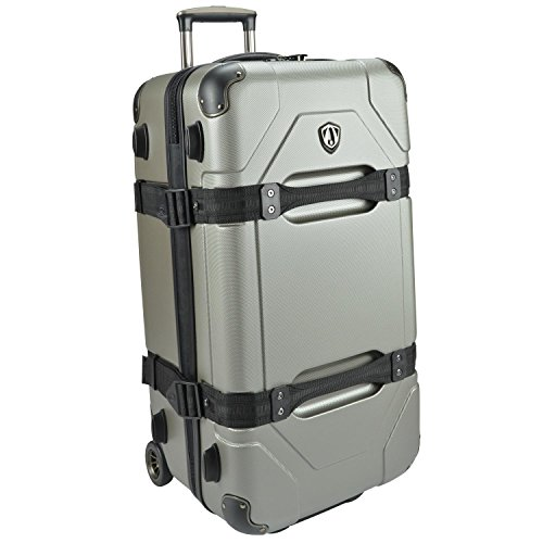 travelers-choice-maxporter-28-rolling-trunk-luggage-silver-grey