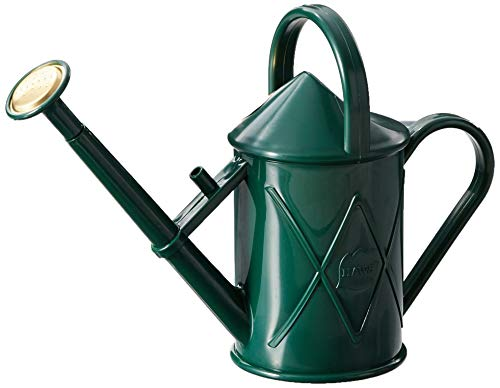 Haws Heritage Indoor Plastic Watering Can, 0.25-Gallon/1-Liter, Green ()