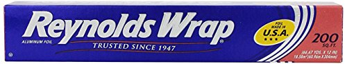 Foil Roll - Reynolds Wrap Aluminum Foil (200 Square Foot Roll)