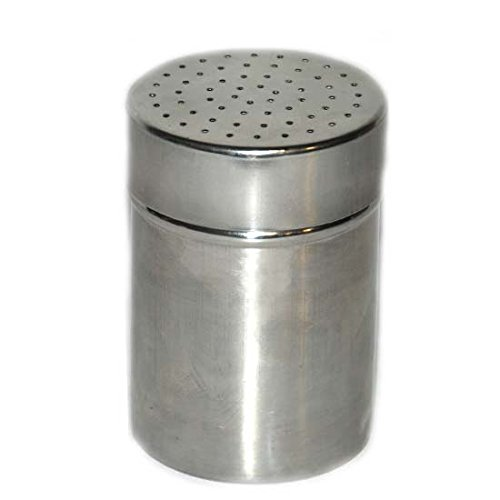 Stainless Steel Dredger 2.36x2.36x3.34in, Case of 24 by DollarItemDirect