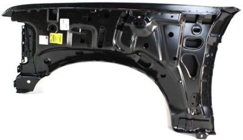 CPP Front Passenger Side Primed Fender Replacement for 1992-1997 Ford F59