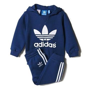 adidas I Trefoilset - Chándal para niños, color azul / blanco, talla 74: Amazon.es: Zapatos y complementos