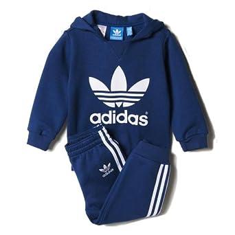 adidas I Trefoilset - Chándal para niños, color azul / blanco ...