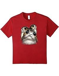 Last Jedi Porgs Big Eyes Cute Graphic T-Shirt