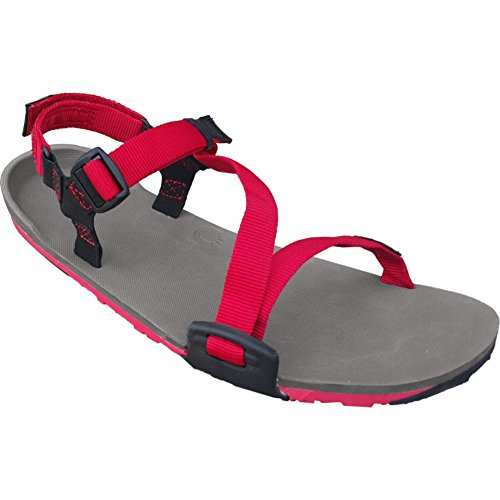 Trail Hiking Xero Sandal Shoes Charcoal Barefoot Sport Inspired Red Trail Z Women's Running Sandals Pepper Lightweight AHEF0ESq
