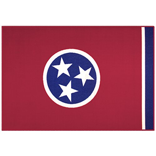 (State of Mind Tennessee State Flag 39x59 in. Rug)