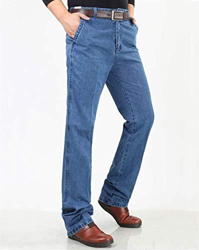 Pantalones Otoño Gruesos Hombre Rectos Casuales Fit Ocasionales Hellblau Jeans Pantalones para Pantalones Pantalones Slim Vaqueros Largos Hombres Pantalones Invierno Pantalones 6PEwq6d